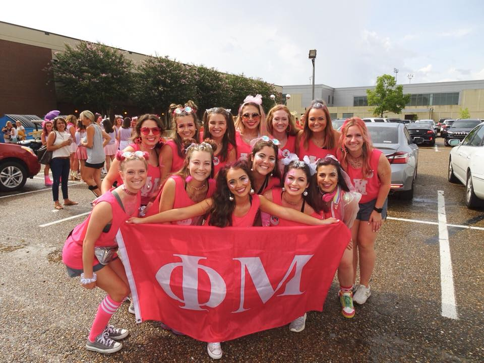 Turn Up the MUsic – Bid Day 2018